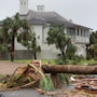 Image of hurricane damage